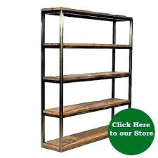 reclaimed wood bookshelves shelves medium size of geometric and iron bookcase rustic bookcases new shelf uk