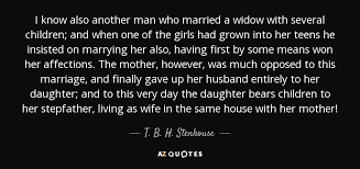 Tbh Quotes Magnificent QUOTES BY T B H STENHOUSE AZ Quotes