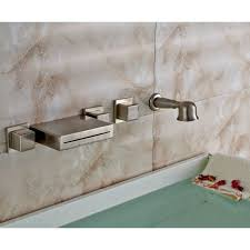 wall mount tub faucet brushed nickel doubtful mogams home design ideas 27