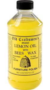 Lemon Oil And Beeswax Furniture Polish