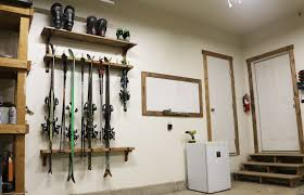 diy ski rack project with free plans
