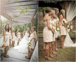 The 25 Best Bridesmaids Cowboy Boots Ideas On Pinterest  Western Country Western Style Bridesmaid Dresses
