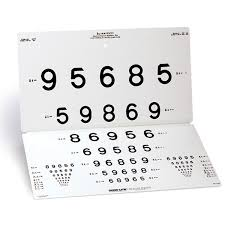 Vision Screening Chart Lea Numbers 15 Line Distance Chart Distance Acuity Charts