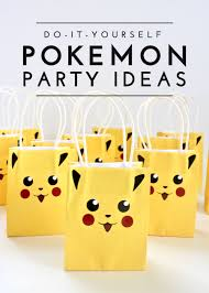 Diy Party Printables Diy Pokemon Party Ideas The Homes I Have Made