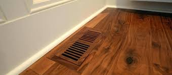 wood vent covers flush floor register home air ventilation registers depot walnut country wall wood vent covers