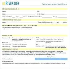 Employee Appraisal Form Appraising The Performance Appraisal Hr Evaluation Employee