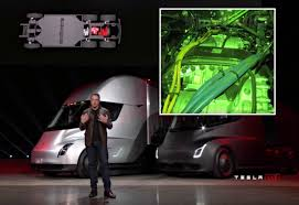 Tesla electric car motor India 2018 Price Teslaraticom Sneak Peek At Tesla Semis Four Model Electric Motors And Gearbox