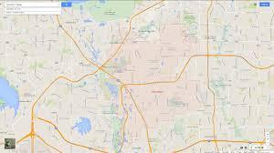 carrollton texas map