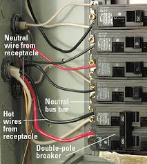 installing a volt receptacle how to install a new electrical connect wires enlarge image