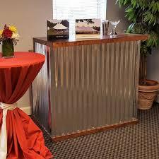 bar sectional corrugated metal