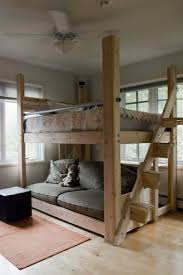 Loft Bed- this one is done in a more adult fashion.. Great for