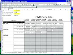 Schedule Maker For Work Free Employee Schedule Maker Excel Create Employee Work Schedule