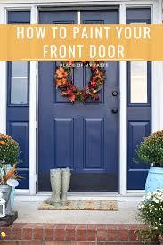 front door paintPAINT FRONT DOOR