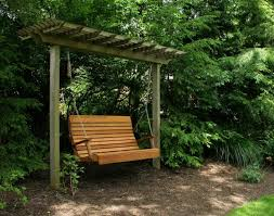 Cozy swing chairs garden ideas Hammock Exterior Unique Wooden Pergola Patio Swing Then Royal Highback Porch Swing Lawn Garden Furniture Images Milescity Diy Cozy Outdoor Wood Swing Chair Magnificent Lemon Green Outsunny
