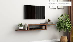 adroit wall mounted tv unit exotic