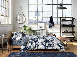View in gallery New tropical bedding from CB2