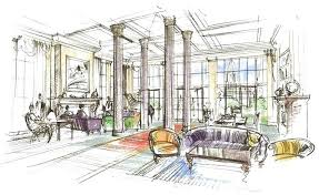 Interior Design Sketches Living Room Google Search Magic