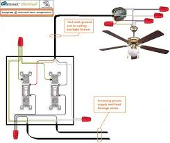 light switch wiring diagram on double wall wiring diagram installing a ceiling fan without existing wiring