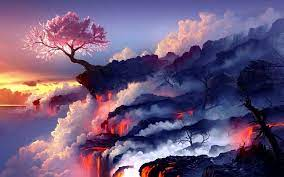 Wallpaper Engine Sakura Tree