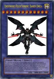 form change yugioh my character damien final form as a yu gi oh card by missael111796