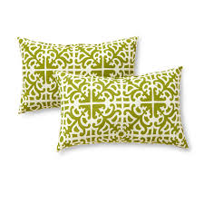 sunbrella replacement cushions. Greendale Home Fashions Rectangle Outdoor Accent Pillow (set Of 2), Grass Sunbrella Replacement Cushions E