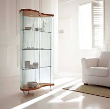 Glass Curio Cabinets With Lights Sempra Contemporary Curio Cabinets Design Mueble Pinterest