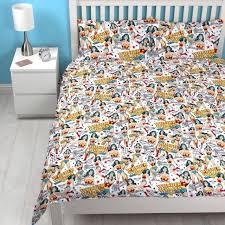dc comics bedding wonder woman power double duvet set quilt cover children bedding kids dc comics dc comics bedding
