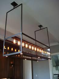 custom made lighting modern custom steel glass chandelier