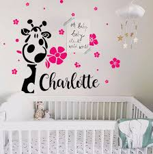 office wall stickers. Personalized Name Wall Decal-Girl Office Stickers
