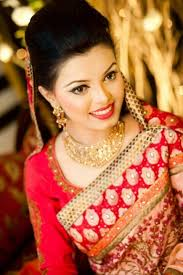 simple bengali bride in desh love the simple makeup