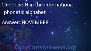 Every symbol has only one pronunciation. The N In The International Phonetic Alphabet Answers Codycrossanswers Org