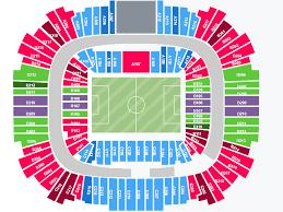 St Petersburg Stadium Seating Chart Saint Petersburg Stadium Tickets Information Seating Chart