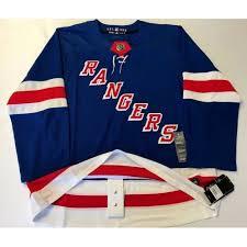 New York Rangers Size 46 Sz Small Adidas Hockey Jersey Climalite Authentic