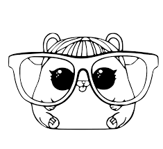 Just print out and have fun! Glasses Coloring Pages Coloring Home