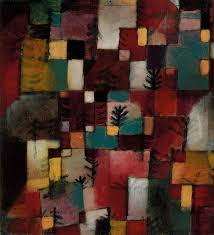 paul klee redgreen and violet yellow rhythms 1920 lent by the metropolitan
