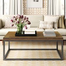 It lets you create a warm and inviting look with your favorite decor, collectibles, potted plants etc. Wayfair Modern Farmhouse Coffee Tables You Ll Love In 2021