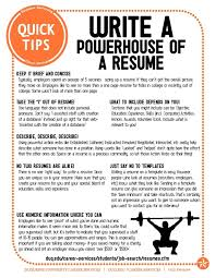 Resumes Tips Powerful Resume Easy Fixes To Improve And Update