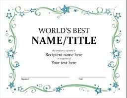 Free Certificate Templates For Word Free Award Certificate Template Microsoft Word Certificates Office