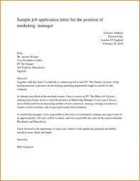 Informal Letter Format For Job Best Sample Spm Cover Asimple