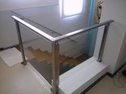 Foto Barandales Y Escaleras De Cristal Templado Y Acero Barandas De Cristal Y Acero Inoxidable