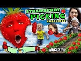 Fgteev Vending Machine Impressive KIDS STRAWBERRY PICKING CHALLENGE Fields Of Fun W FUNnel Vision