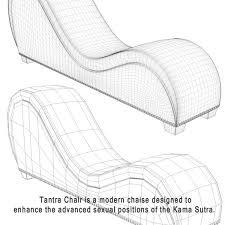 tantra chair size design ideas