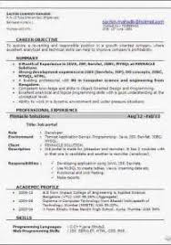6 Months Experience Resume Sample In Software Engineer Sample