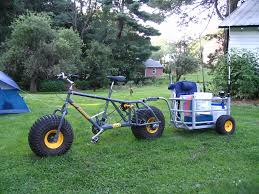picture of surf fishing cart bike trailer