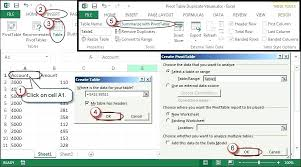 using pivot tables in excel 2010 excel delete pivot table excel and earlier choose data list create and then next choose