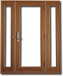 Single Patio Doors With Sidelights B37d On Attractive Home Interior