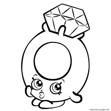 Shopkins Coloring Pages And Shopkins Printable Coloring Pages