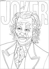 They want out of prison and it seems they'll do anything dangerous to get it. Joker Joaquin Phoenix Movies Adult Coloring Pages