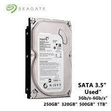 Seagate 250GB 320GB 500GB 1TB masaüstü bilgisayar 3.5