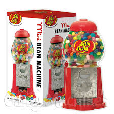 Jelly Bean Vending Machine
